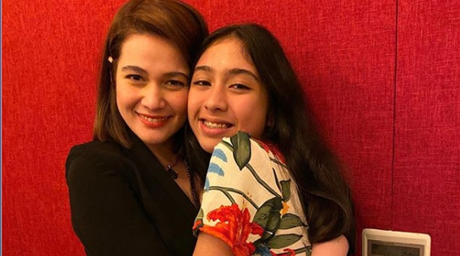 Bea Alonzo makes an extra effort to visit Dimples Romana's daughter