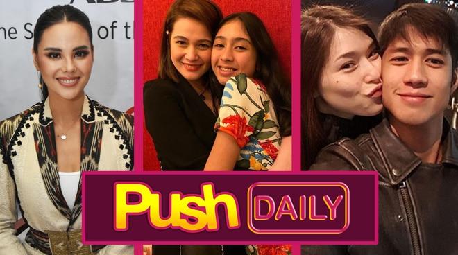 Catriona Gray, Bea Alonzo, Kylie Padilla and Aljur Abrenica   Push Daily Top 3