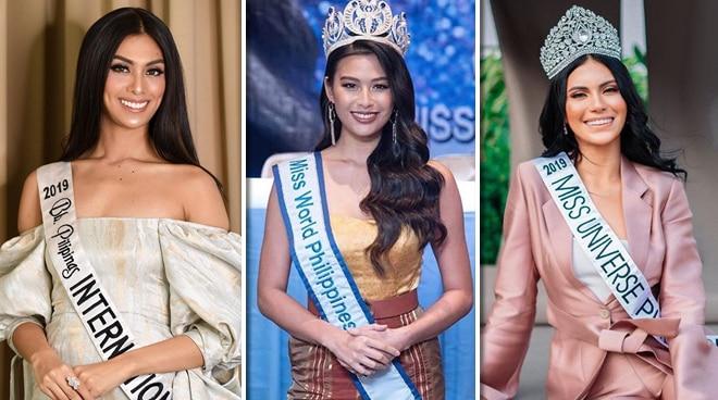 Ranking ng Pinay beauty queens sa international pageant nangulelat sa 2019