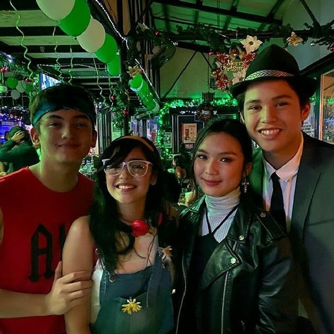 The Gold Squad sure had fun at the Christmas party of ABS-CBN's hit afternoon series Kadenang Ginto.