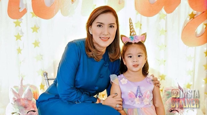 OH MANDY! Ara Mina's only daughter Mandy turns five-years old