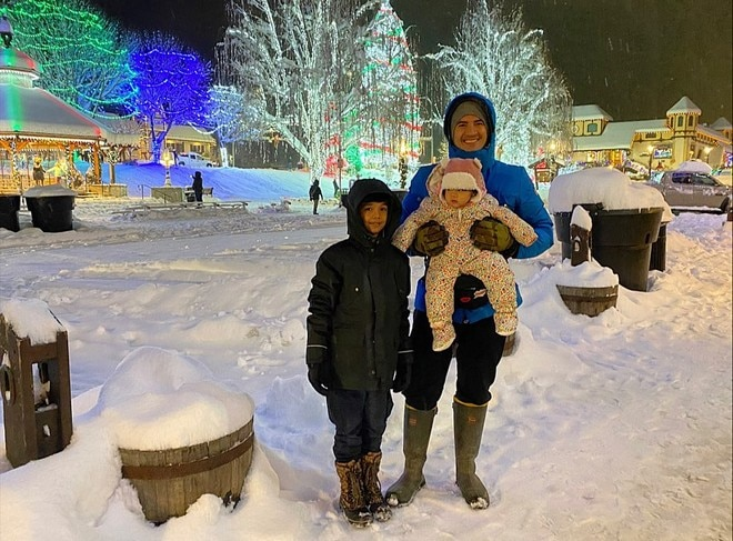 Montero Family are currently in Washington, D.C. in the United States to celebrate holiday season