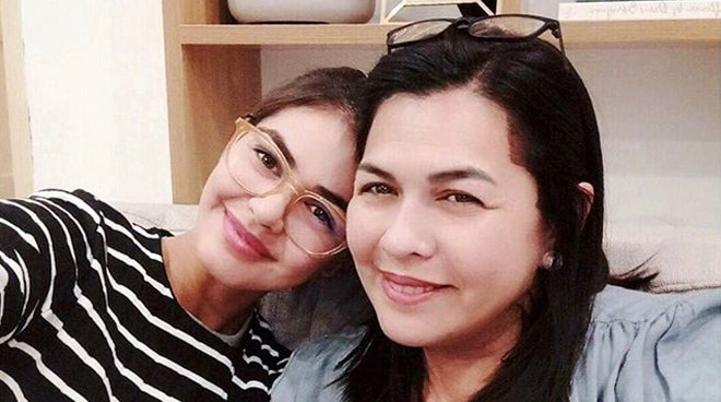 Lotlot De Leon reveals initially not wanting daughter Janine to join showbiz