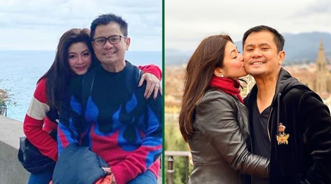 Regine Velasquez has a sweet message for Ogie Alcasid on their ninth anniversary