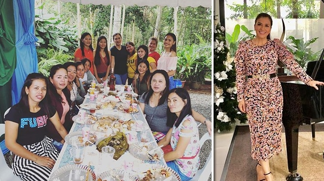 Zsa Zsa Padilla hosts Christmas party for Lucban farm employees
