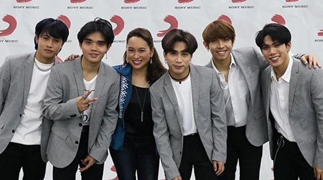 LOOK: SB19 signs with Sony Music