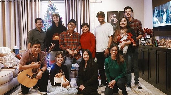 Liza Soberano celebrates Christmas in her new home in the US