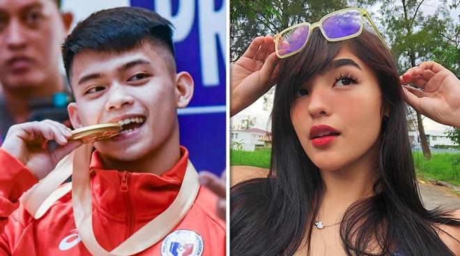 Pinoy Gymnast Carlos Yulo, pinangalanan si Andrea Brillantes bilang kaniyang celebrity crush