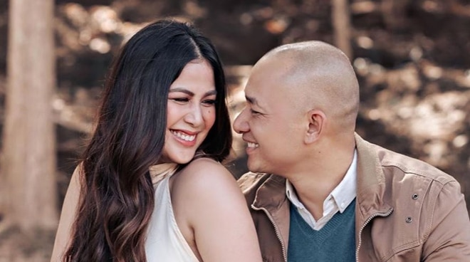 Valerie Concepcion marries non-showbiz bf Francis Sunga