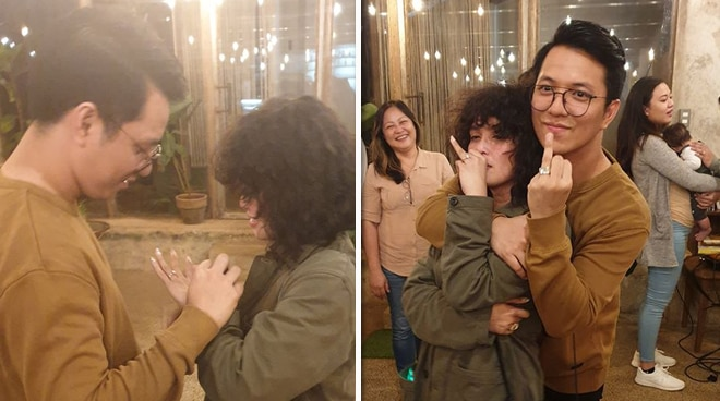 KZ Tandingan and TJ Monterde are engaged