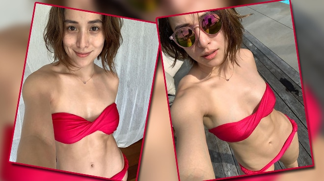 LOOK: Cristine Reyes shows off fit physique in bikini