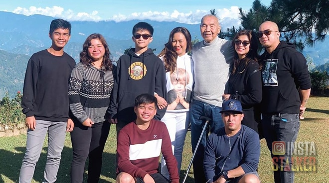 LOOK: Angel Locsin and family vacation in Baguio City