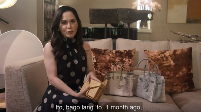Jinkee Pacquiao reveals one of the most expensive bags she owns