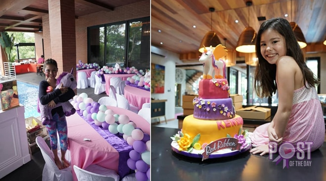 Kendra Kamer celebrates 10th birthday in their new home