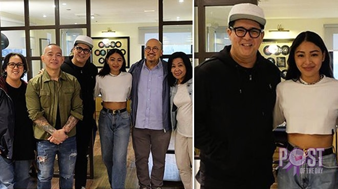 LOOK: Aga Muhlach and Nadine Lustre gear up for a new project