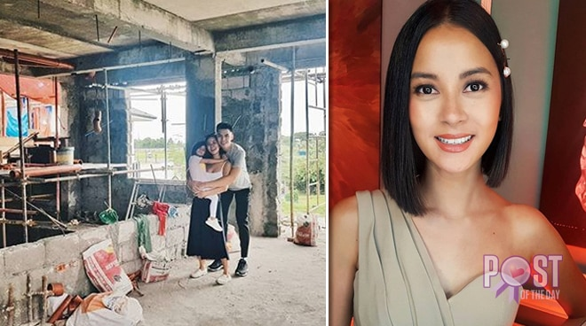 Bianca Gonzalez shares a peek of new house under construction