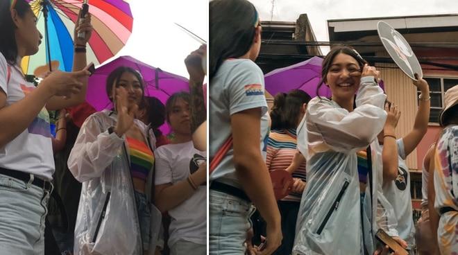 Netizens found out Nadine Lustre secretly donated an undisclosed amount to Metro Manila Pride Organization