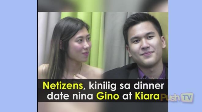 #PushTV: Netizens, kinilig sa dinner date nina Gino at Kiara