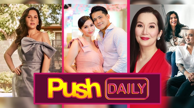 #PushDaily Top 3: Jinkee Pacquiao, Mariel Rodriguez, Robin Padilla, Kris Aquino and Angel Loccsin