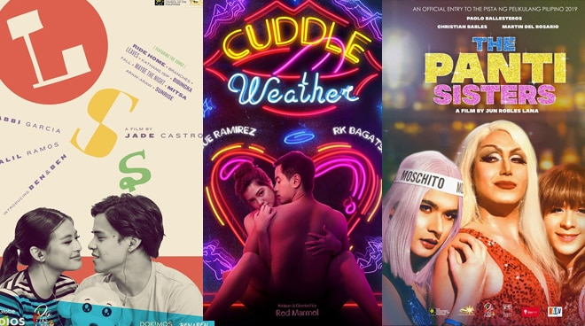 SEE: Official posters of films to compete in Pista ng Pelikulang Pilipino unveiled