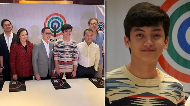 Seth Fedelin, inaming naging emosyonal nang pumirma ng kontrata sa ABS-CBN