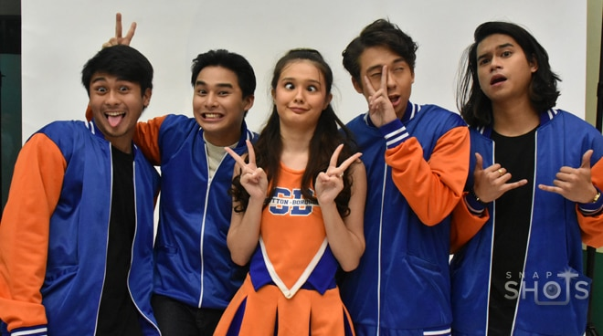 LOOK: The cast of the upcoming barkada movie 'G!'