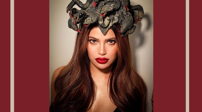 Denise Laurel shows off her Valentina look