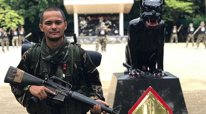 Matteo Guidicelli on finishing scout ranger training: 'It humbled me so much'