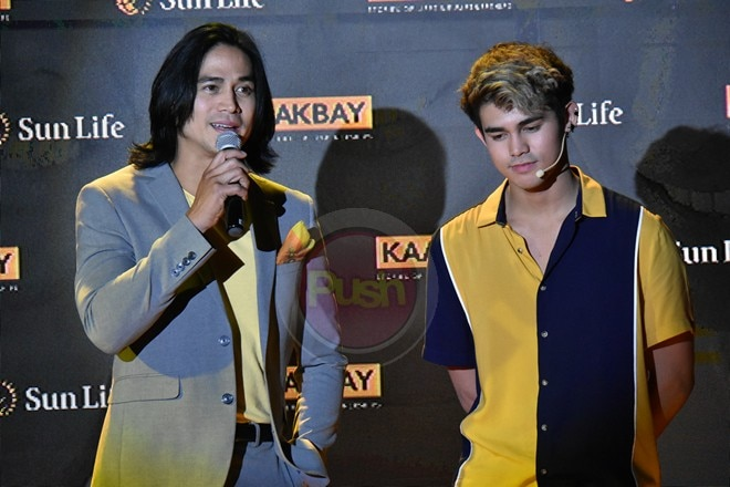 Kapamilya celebrities encourage having lifetime financial security through Sun Life's Kaakbay.