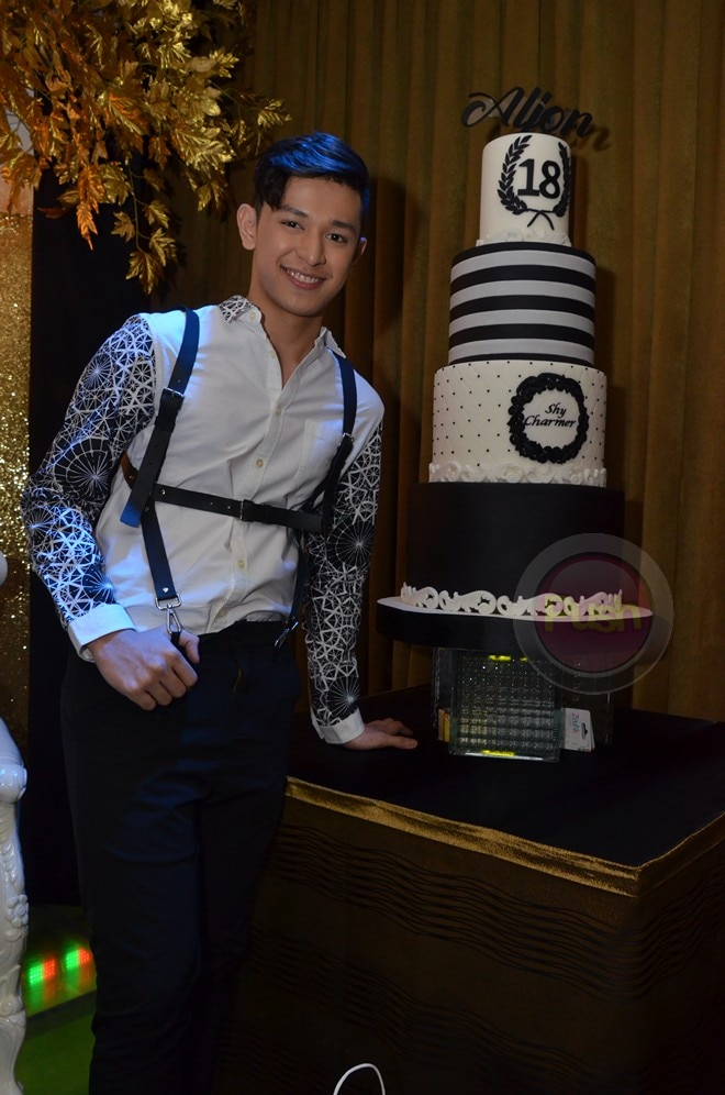 Aljon Mendoza celebrates 18th birthday