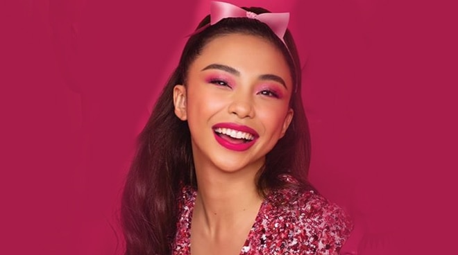 PRETTY IN PINK! Maymay Entrata is the face of a new beauty collection