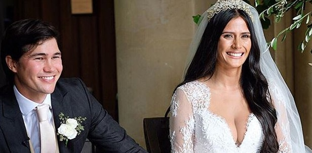 Phil Younghusband ties the knot with Mags Hall in UK