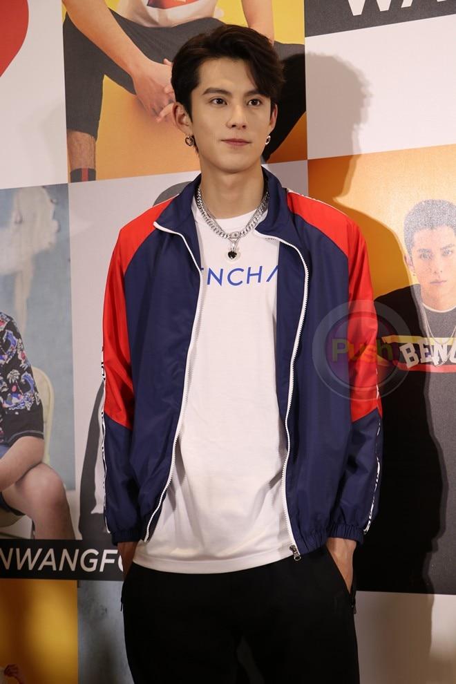 Dylan Wang had a fan meeting at the Araneta Coliseum last July 20.