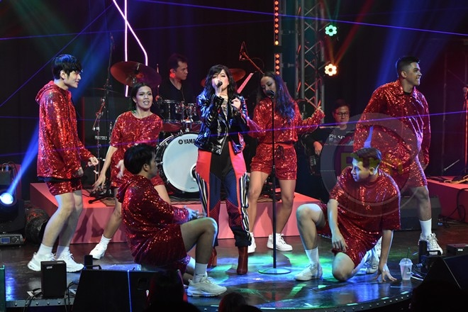 Sue Ramirez staged her Rock Chic concert last July 19 at the Music Museum.
