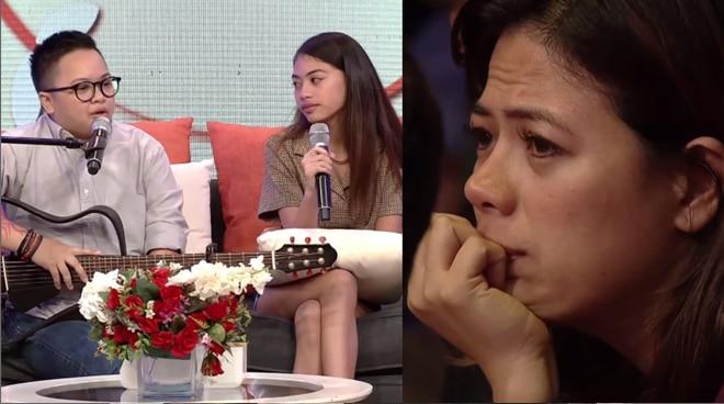 PANOORIN: Liza Diño, naging emosyonal habang pinapanood ang guesting ng mag-ama na sina Ice Seguerra at Amara