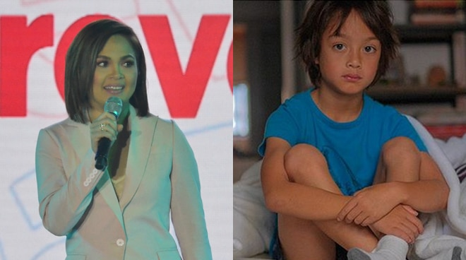 EXCLUSIVE: Judy Ann Santos reacts to son Lucho being dubbed as the next heartthrob