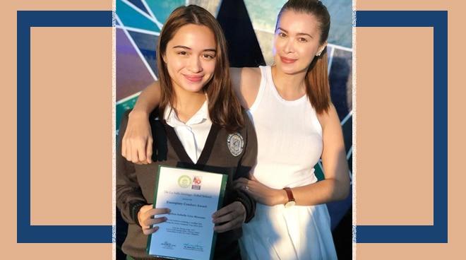 Sunshine Cruz proud of daughter Angelina's academic accomplishment