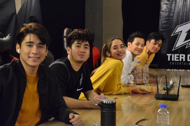 Star Magic and Tier One Entertainment, celebrities and professional gamers engaged in a show match.