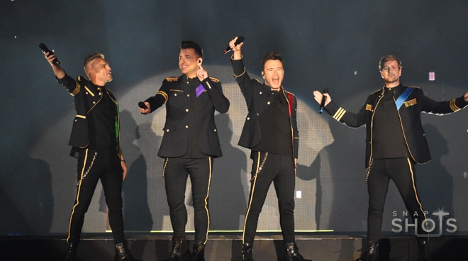 LOOK: Westlife celebrates 20th anniversary with a Manila concert