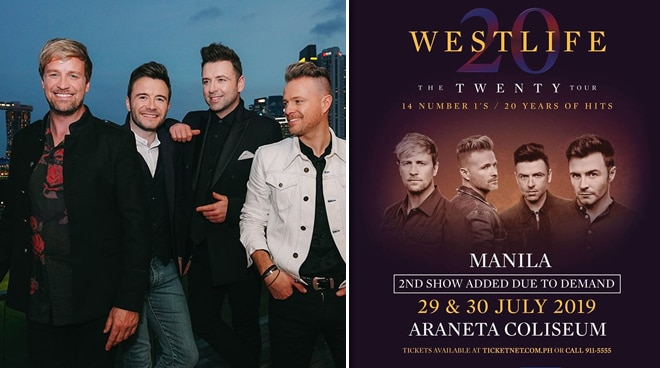 Westlife thanks Pinoy fans for 20 years of loyalty: 'It's been too long since we've been away!'