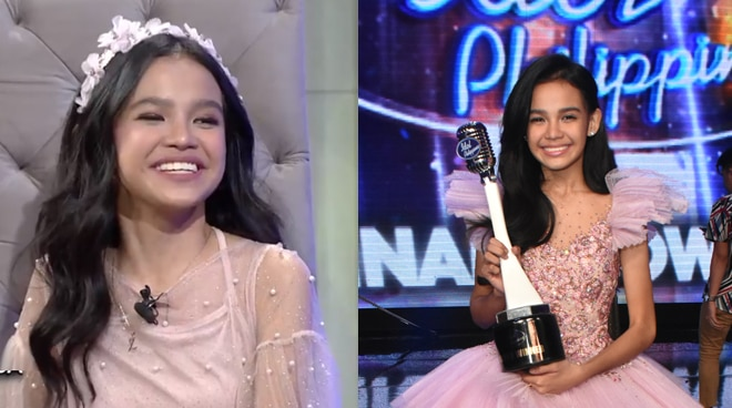 Zephanie Dimaranan reveals what she was thinking right before she was announced as first Idol Philippines winner